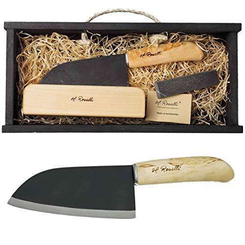 Roselli Santoku Messer 14 mit Geschenkbox R700P und Prymo Klingenöl
