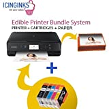 Best Edible Printers - Latest Cake Printer Bundle Package - 50 Sheets,Cake Review