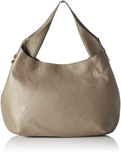Bags4Less Damen Ronin Umhängetasche, Braun (Taupe), 14x30x43 cm