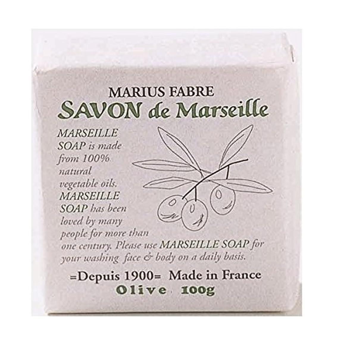 セッティング洞窟ゴシップサボンドマルセイユ 無香料 オリーブ石鹸 100g 6個セット マリウスファーブル