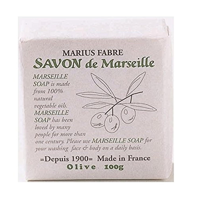 良心悲鳴金額サボンドマルセイユ 無香料 オリーブ石鹸 100g 6個セット マリウスファーブル