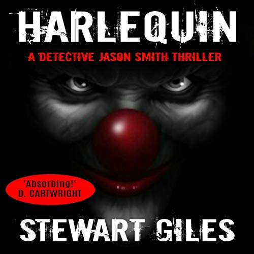 Harlequin audiobook cover art