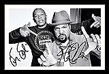 Dr Dre & Ice Cube Signiert und gerahmt Foto