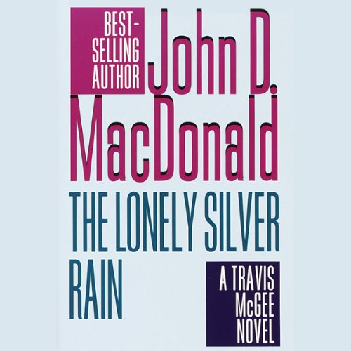 The Lonely Silver Rain audiobook cover art