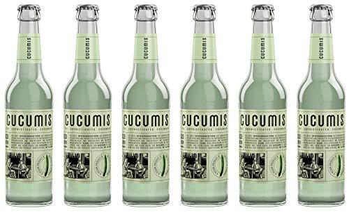 Cucumis - The Sophisticated Cucumber Gurkenlimonade MW inkl. Pfand - 6x0,33l inc. 0.48€ MEHRWEG Pfand