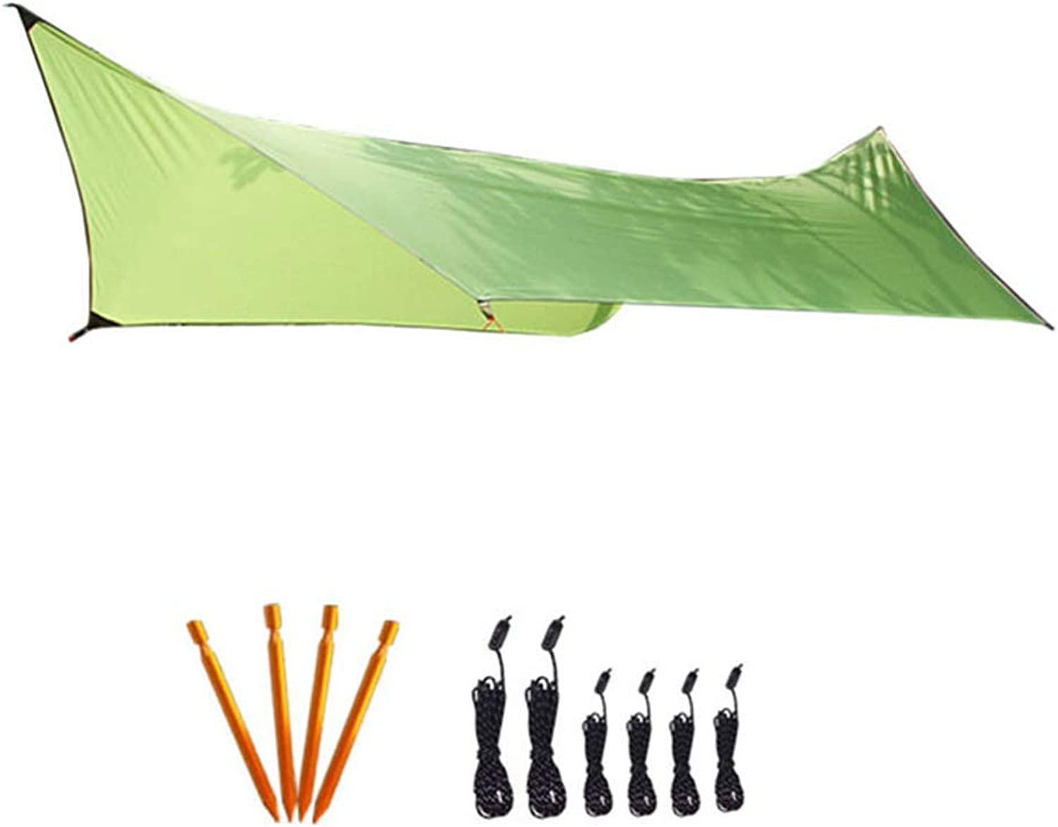 Family Beach Sunshade, Outdoors Tall Canopy, Beach Shelter, Lightweight Sun Shade Tent, 210T Polyester Cloth, Suitable for Camping, Hiking, Fishing