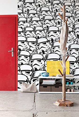Papel pintado fotográfico Star Wars Komar IADX5-015, diseño de soldado asalto de Star Wars