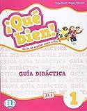 ¡Que bien! Guia didactica. Per la Scuola elementare. Con 2 CD-Audio: Que bien!: Teacher's Guide + audio CD (2) + DVD 1 [Lingua spagnola]