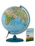 Tecnodidattica – Mappamondo Safari 25 per Bambini e Ragazzi | Luminoso e girevole |...