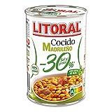 Litoral Cocido Madrileño -30% Sal y Grasas - Pack de 10 x 425g