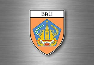 Self-Adhesive Sticker Car Window Bumper Vinyl Decal Hochwertiger Aufkleber Wake Up In Bali Live The Dream Slogan