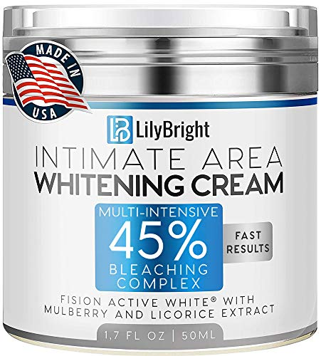 Whitening Cream With Alpha Arbutin - Made in USA - Dark Spot Corrector For Face And Sensitive Skin -...