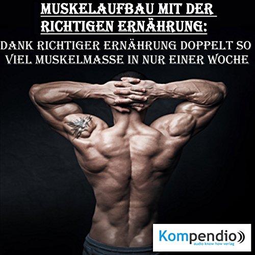 Muskelaufbau mit der richtigen Ernährung Titelbild