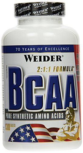 Weider, All Free Form BCAA, 1er Pack (1x 130 Tabletten)