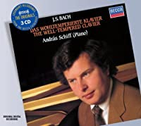 Bach J.S: Well Tempered Klavier by ANDRAS SCHIFF (2008-06-02)