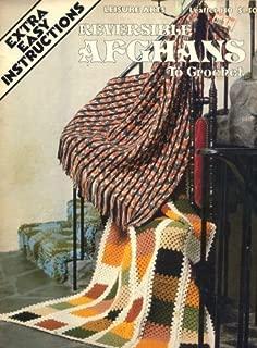Reversible Afghans to Crochet Leisure Arts Leaflet 130