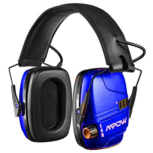 Mpow HP094A Electronic Shooting Ear Protection Rechargeable,...