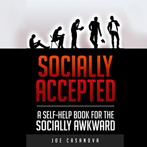 Socially Accepted audiobook cover art
