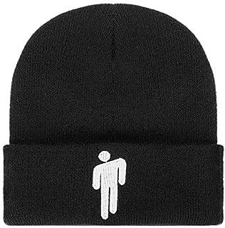 Billie Eilish Merch Hot Topic Logo Beanie Knit Hat Stretchy Cap for Men Women