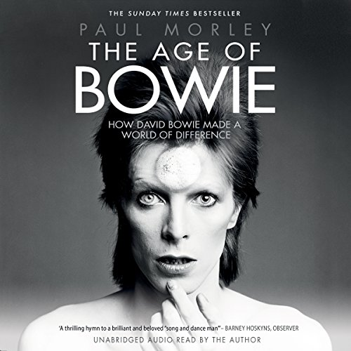 The Age of Bowie audiobook cover art
