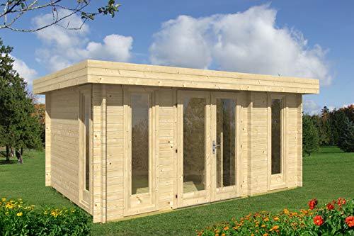 Gartenhaus Oriental-5 - Caseta de madera para jardín (470 x 320 cm, 40 mm)