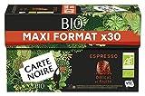 Carte Noire Café Espresso Bio Maxi Format 30 Pièces 160 g