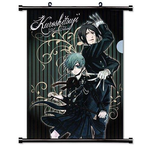 1 X Black Butler Anime Fabric Wall Scroll Poster (16 x 22) Inches