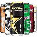 12-Pack Rockstar Energy Drink 6 Flavor Sampler Variety 16 oz Cans