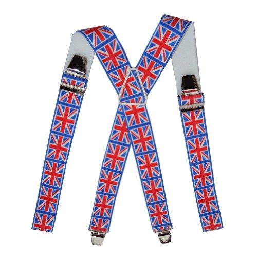 Mesbretelles Bretelles homme drapeau Anglais