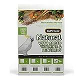 ZuPreem 230358 - Comida para pájaros (tamaño Grande), Color Natural