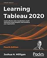 Learning Tableau 2020, 4th Edition Front Cover