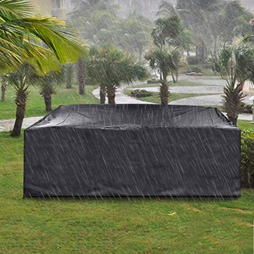 king do way Patio Furniture Covers 124'X70'X29' Extra Large Patio Table Covers Rectangular Covers...