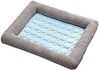 ペット冷却マット、涼しい ベッドさわやかなマットクッション多目的毛布サマーカーペットペット犬猫用