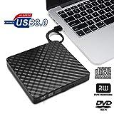 N /A YXY-Tech External CD DVD Laufwerk USB 3.0 Slim Portable Externe DVD-Rw DVD Cd Brenner für Laptop Desktop Notebooks Windows Vista/Xp/Win 7 / Win 8 / Win 10 Und MacBook Air/Pro/Imac