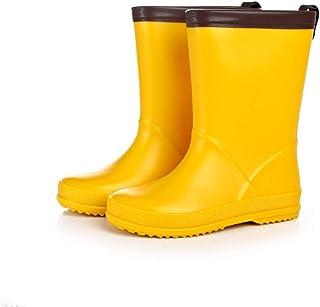 LUFKLAHN Anti-Rutsch-Gummischuhe, Karikatur-Kind-Regen-Aufladungen, Kinder Wasser Schuhe (Color : A, Size : 28)