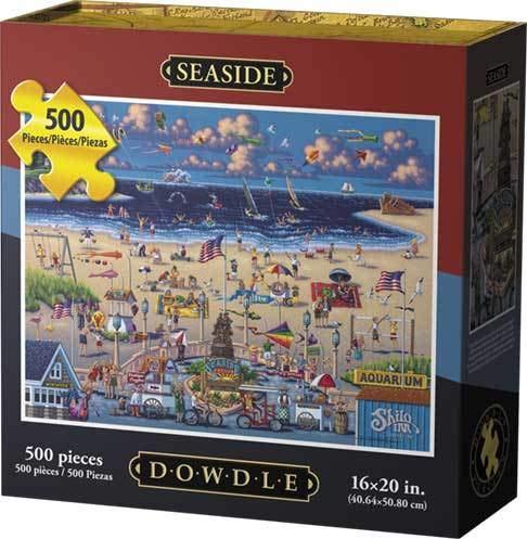 Dowdle Jigsaw Puzzle - Seaside - 500 Piece