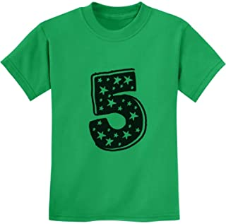 TeeStars - Five Years Old Birthday Gift Idea - I'm 5 Superstar Kids T-Shirt