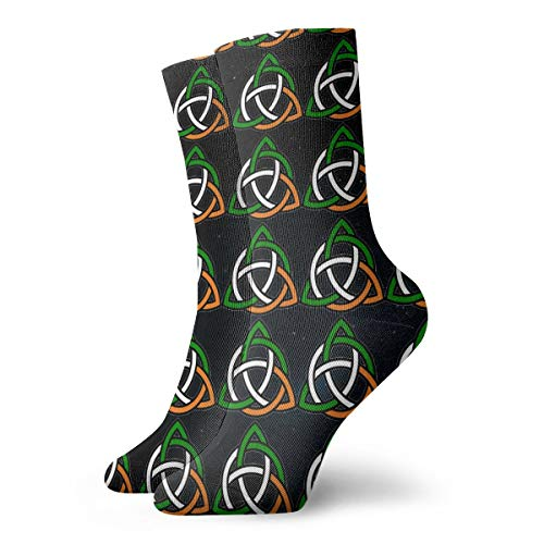 Celtic Knot Irish Unisex Comfortable Casual Sock Crew Socks Novelty Ankle Socks