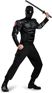 Men's Snake Eyes Classic Muscle Adult Costume