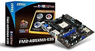 MSI FM2-A85XMA-E35 AMD m-ATX Motherboard (PCI-E, Socket FM2)