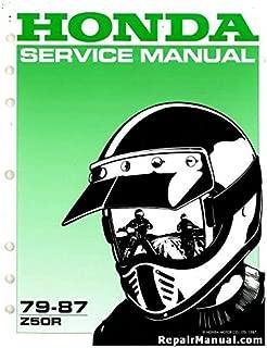 6118105 1979-1987 Honda Z50R Motorcycle Service Manual