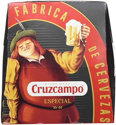 Cruzcampo Beer special - Pack of 6 Bottles x 250 ml - Total: 1.5 L