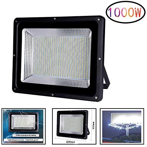 Outdoor Lights Proyectores LED Exterior Súper Brillante Deslumbramiento 1000W 1200W 1500W 2000W Foco Proyector LED Remoto Al Aire Libre Impermeable Fábrica Ingenieria Alto Poder Floodlight LED (Opcion