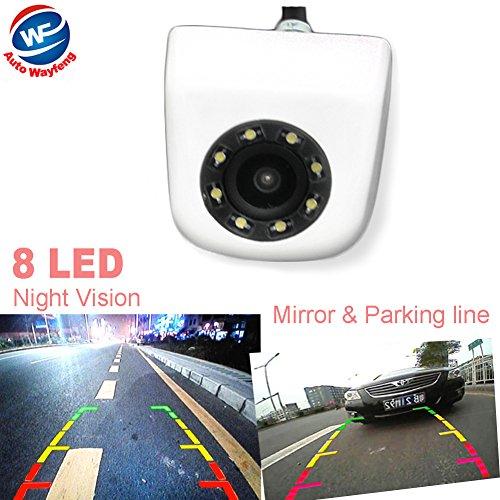 Auto Wayfeng WF nueva Classic CCD HD para el coche cámara de visión trasera para sistema de aparcamiento gran angular aparcamiento asistencia y resistente al agua 8 LED de visión nocturna