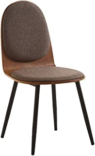 LMDC Cocina, sillas de Comedor Moderno Tela Silla cojín del Asiento, sillas sin Brazos Siglo Mediados de Cocina, Comedor, Restaurante