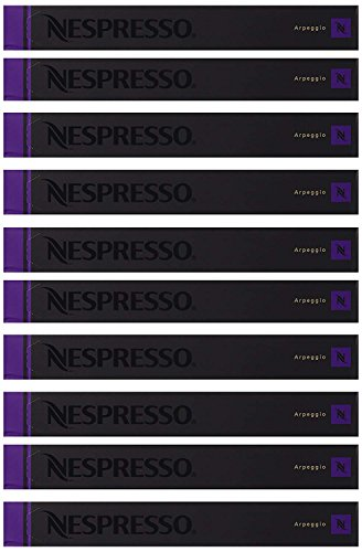 New Original Nespresso Arpeggio Flavour Coffee 100 Capsules Pods 10 Sleeves Long Expiry