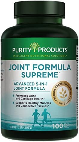 Purity Products - Attention brand Joint Formula Softgels Ranking TOP2 Supreme 100