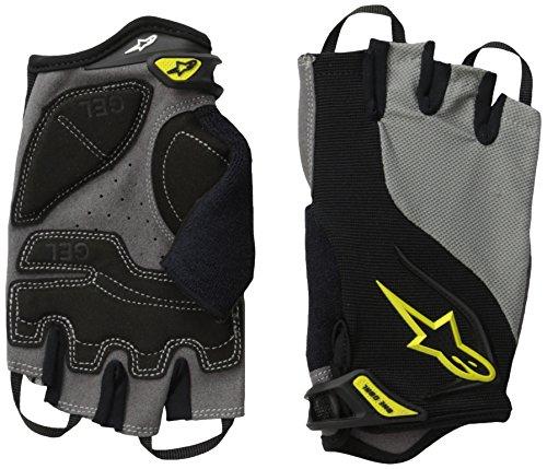 Alpinestars pour Homme Pro-Light Doigt Court Gants S Black Gray Yellow