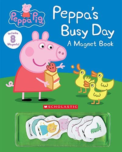 Peppa s Busy Day Magnet Book Peppa Pig product image