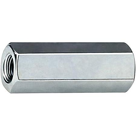 50/St/ück Stahl verzinkt apolo 91240/MS Muffe Abstandshalter Sechskant M12/x 40/mm